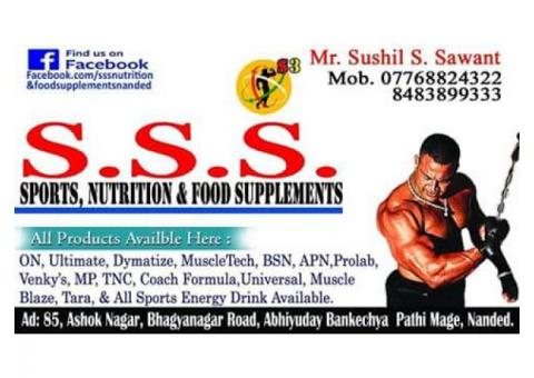 SSS Nutrition & Food Supplements Nanded