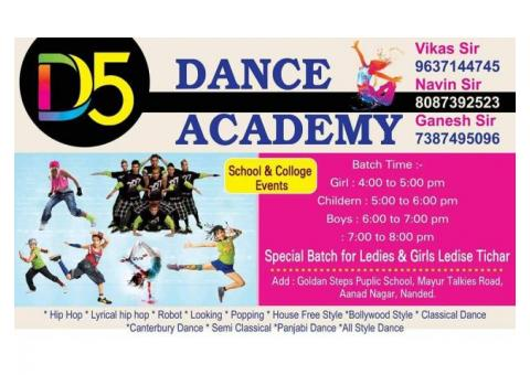 D5 Dance Academy nanded