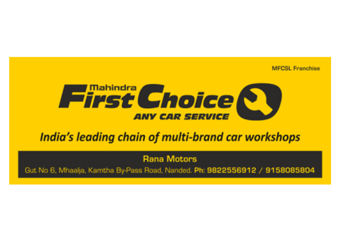 MFCS - RANA MOTORS - Mahindra First Choice Services LTD