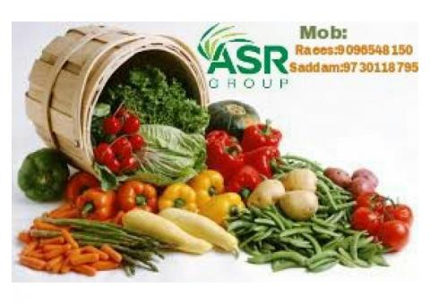 ASR VEGETABLES SUPPLIER WHOLESALE AND RETAIL